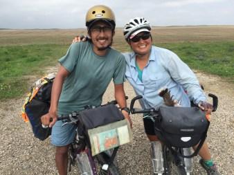 Dan & Kiri - at the end of a 2 year honeymoon spent cycling the world