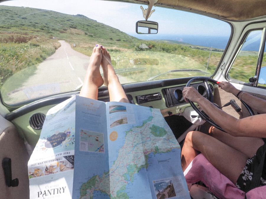 An Epic 4 Day Cornwall Road Trip With A VW Camper