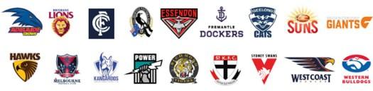 afl-clubs-logos