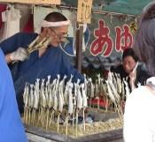 Salted fish at Maruyama Park