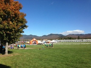 Where's the finish of Ragnar ADK