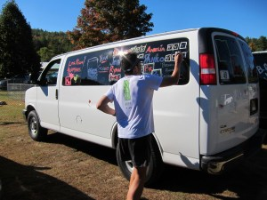 Checking off the final box on Van 1 for Breaking Ragnar