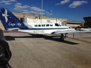 Cape Air's Cessna prop plane