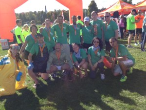 Team Breaking Ragnar found the finish of Ragnar ADK