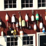 Buoys at Bar Harbor
