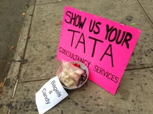 Show us your Tata Consultancy Services sign