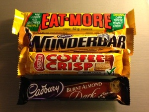 Eat More Wunderbar Coffee Crisp Cadbury chocolates