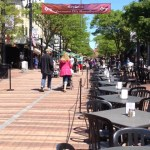 Downtown Burlington, VT's pedestrian walkway