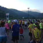 Start of the Hatfield McCoy Marathon 2014