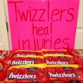 Twizzlers Heal Injuries by Where's the Finish