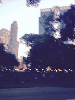 Sorry this is so blurry, but I took it while running (haha).