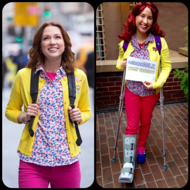 I'm Breakable Kimmy Schmidt. :(