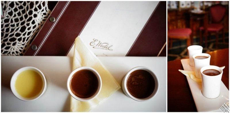 Pijalnia Czekolady E. Wedel Degustacyjne trio czekolad