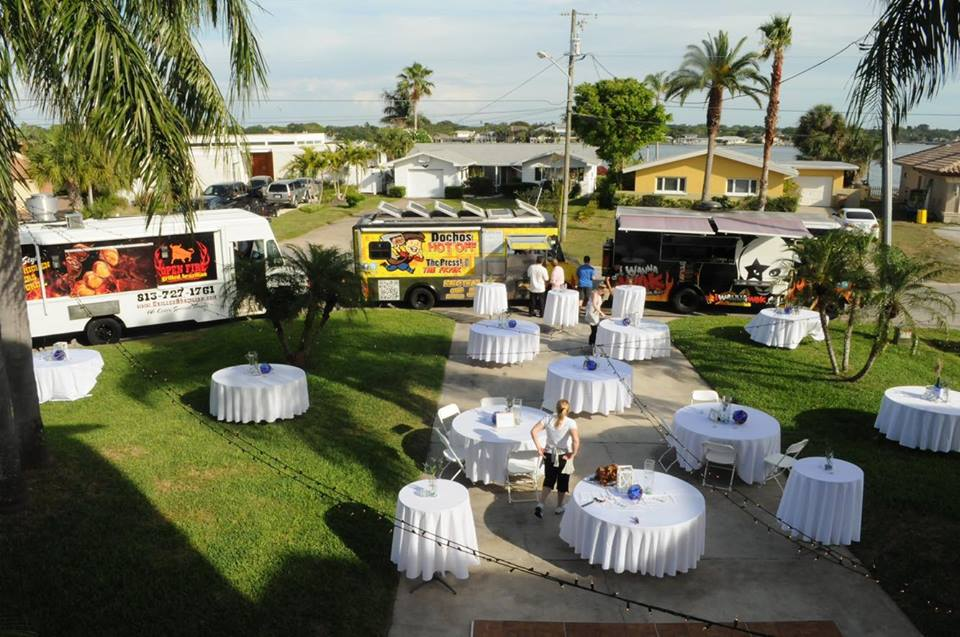 wedding day considerations include food trucks