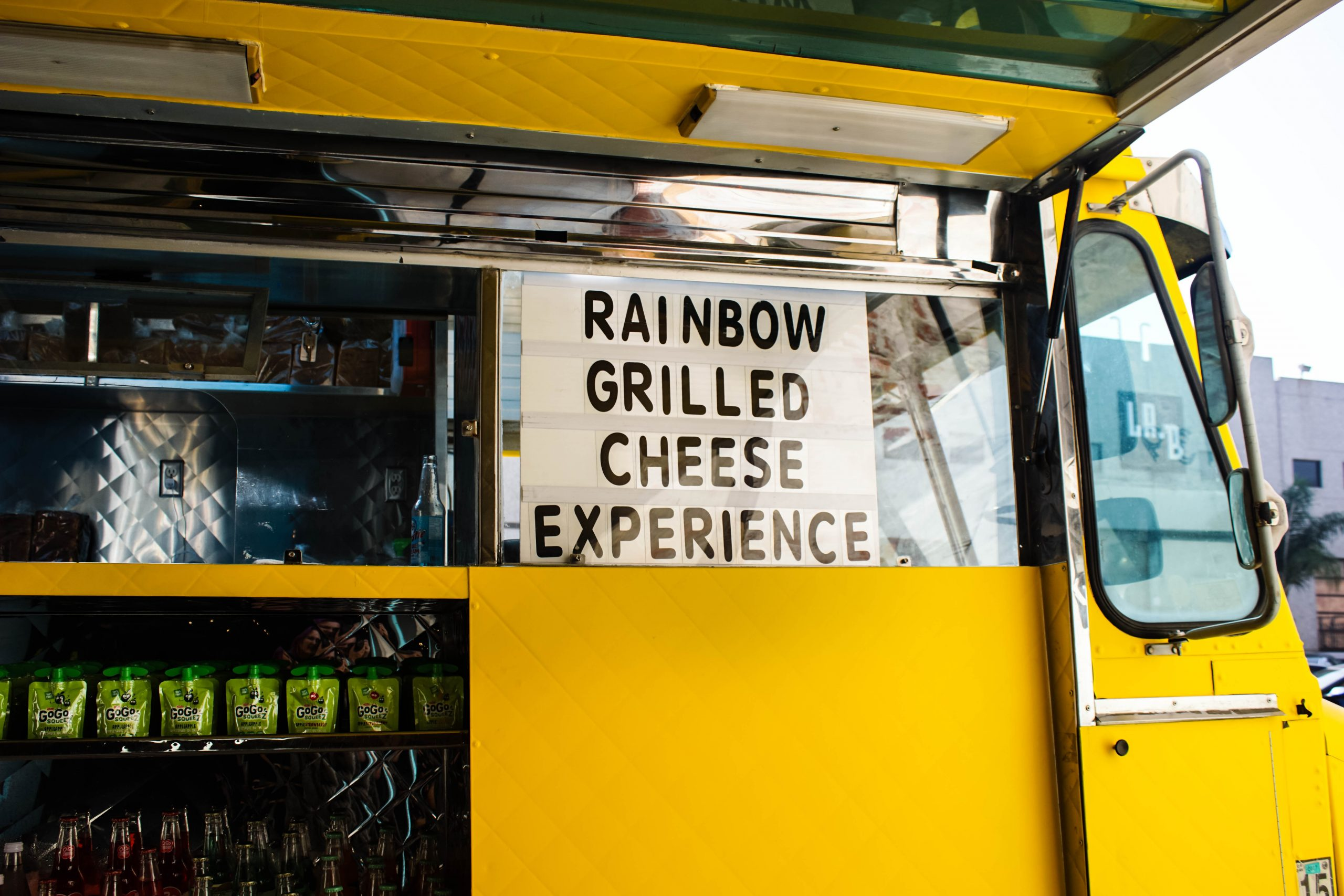 how to hire a food truck caterer event
