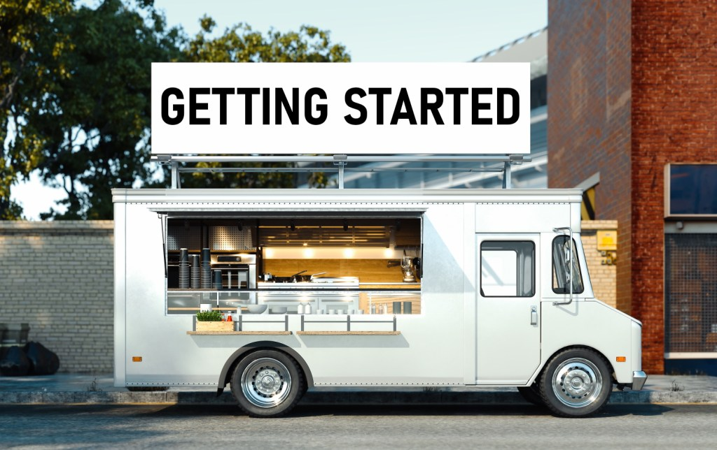 Getting Started with your foodtruck