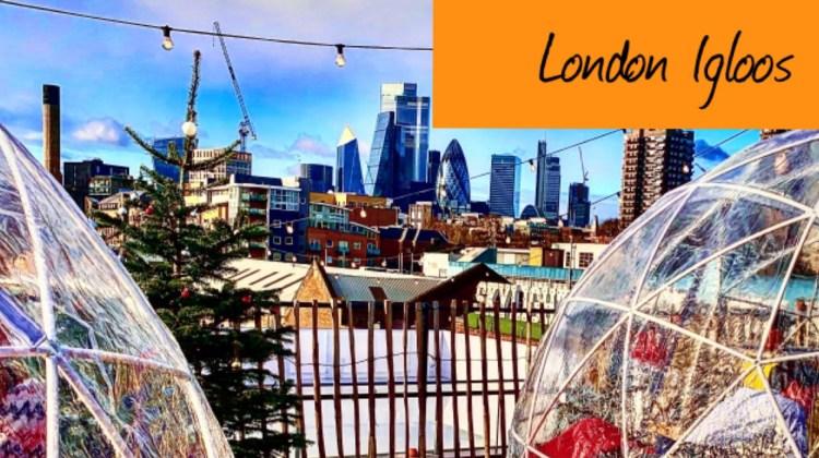 Top 5  London rooftop igloos