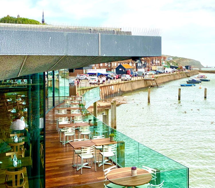 Folkestone Rock Salt restaurant