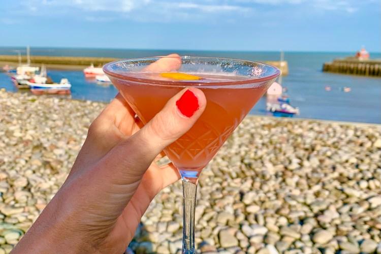 Cocktail at rock Salk Folkestone