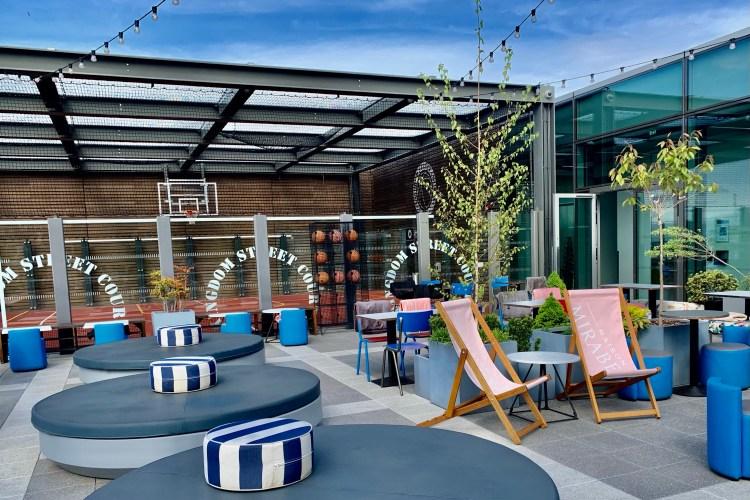 Skylark rooftop deck chairs