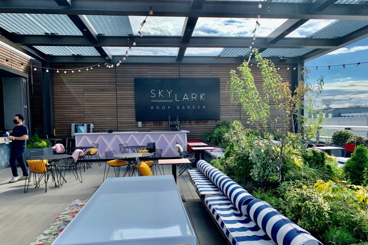 Skylark  rooftop sign sofas and chair