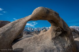 Mobius Arch. Alabama Hills