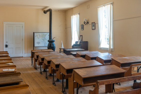Columbia School House, built in 1860 at a cost of $4898.