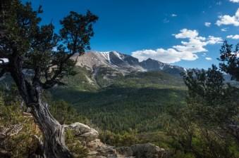 Wheeler Peak. Great Basin National Park.