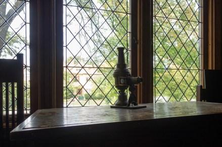 Frank Lloyd Wright's Oak Park house.
