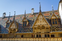 Roof of The Hospices de Beaune