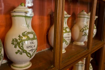 Apothecary, Hospices de Beaune. Old Spice was popular even then.