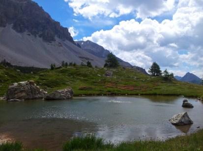 Pond in Vallee Etroite, France