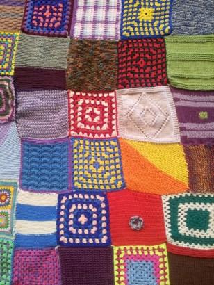 Patchwork knitting/crochet