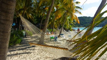 The view from the Soggy Dollar Bar, White Bay, Jost Van Dyke