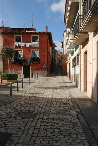 Street scene in Tudela