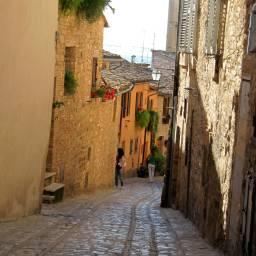 Spello - town streets