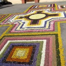 Spello - street decorations