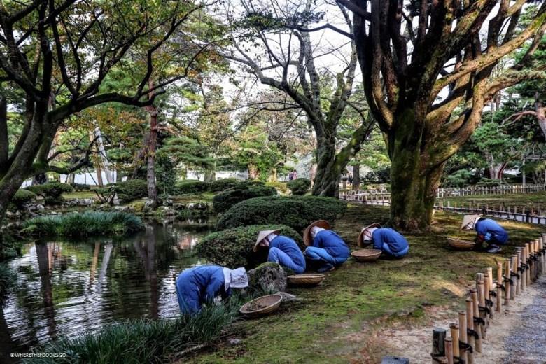 Kenroku-en, Kanazawa