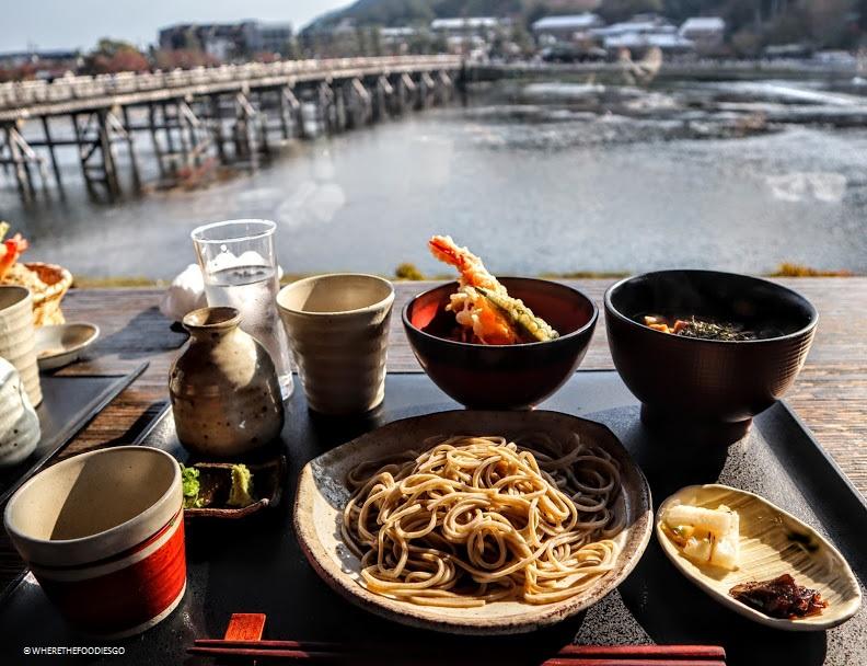 Soba restaurant Arashiyama Yoshimura