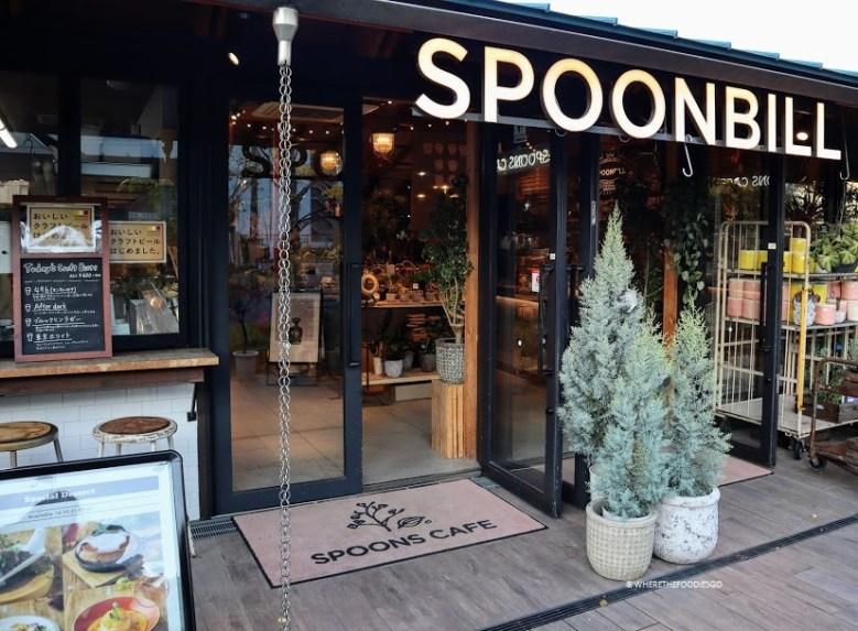 Spoonbill, Osaka