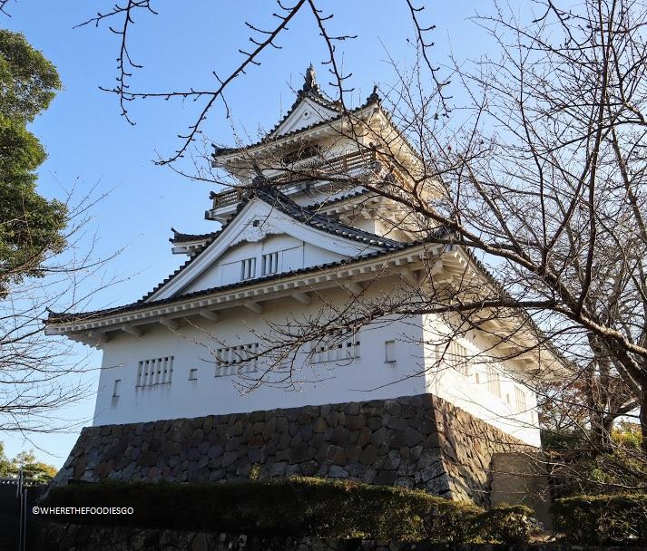 Kitsuki castle, Kyushu