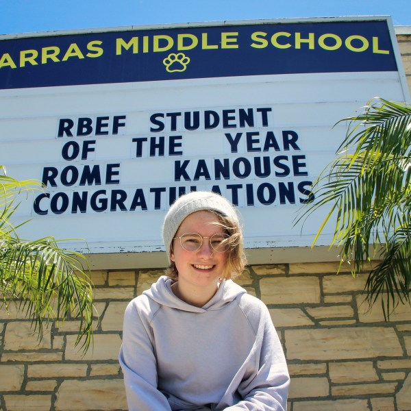 Student of the YEAR!