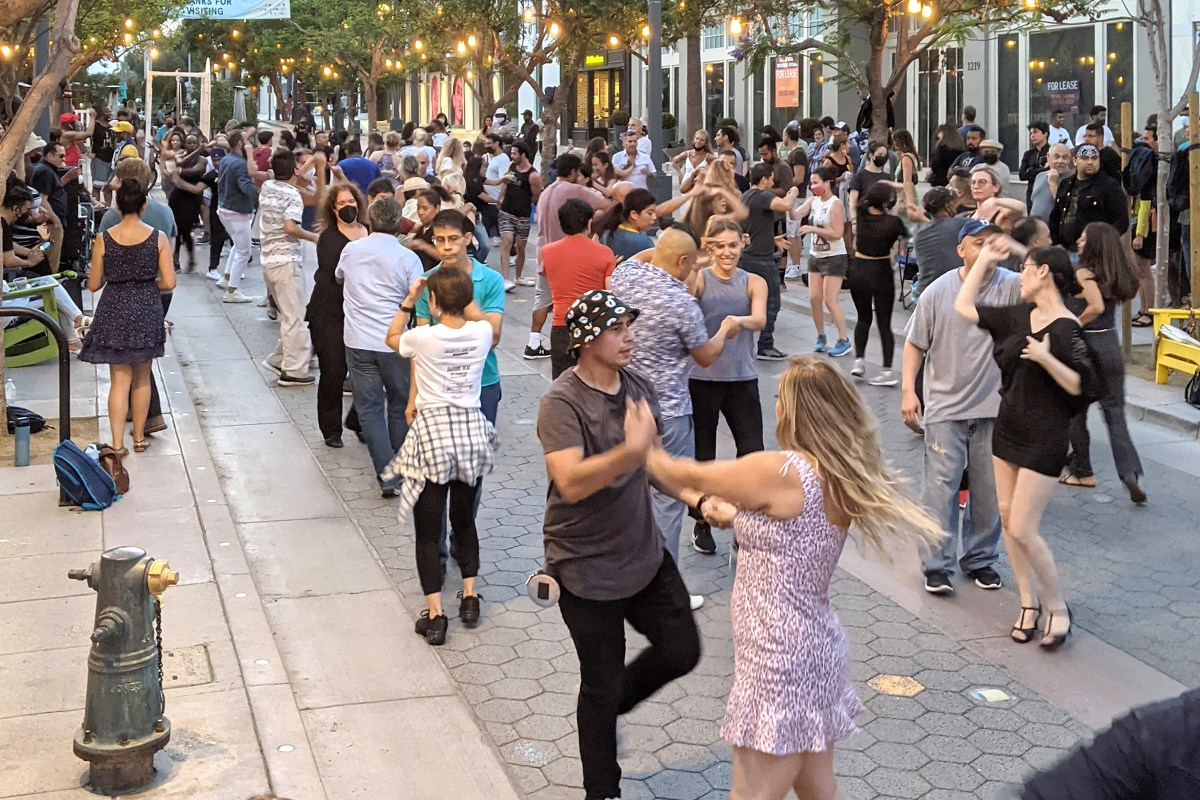 And Dancing In The Street
