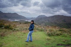 Overlooking Connemara