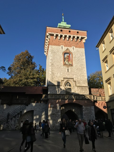 St. Florian's Gate—part of the original city wall