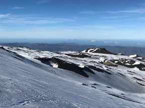 View from above the Anfiteatro lift on Etna Nord