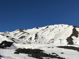 Some of the fun sidecountry terrain on Etna Sud