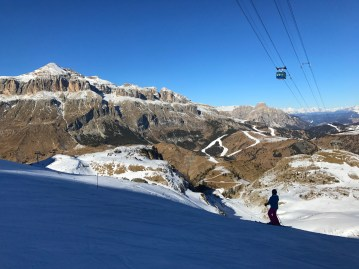 Sella Massif from the slopes of Arabba