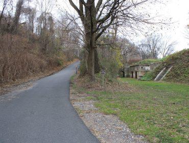 Fort Wadsworth embankment. Staten Island, NY