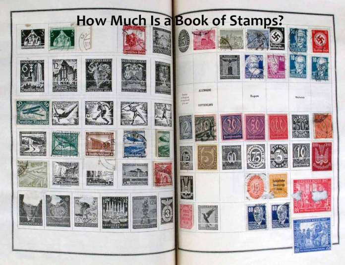 Book of Stamps How Much